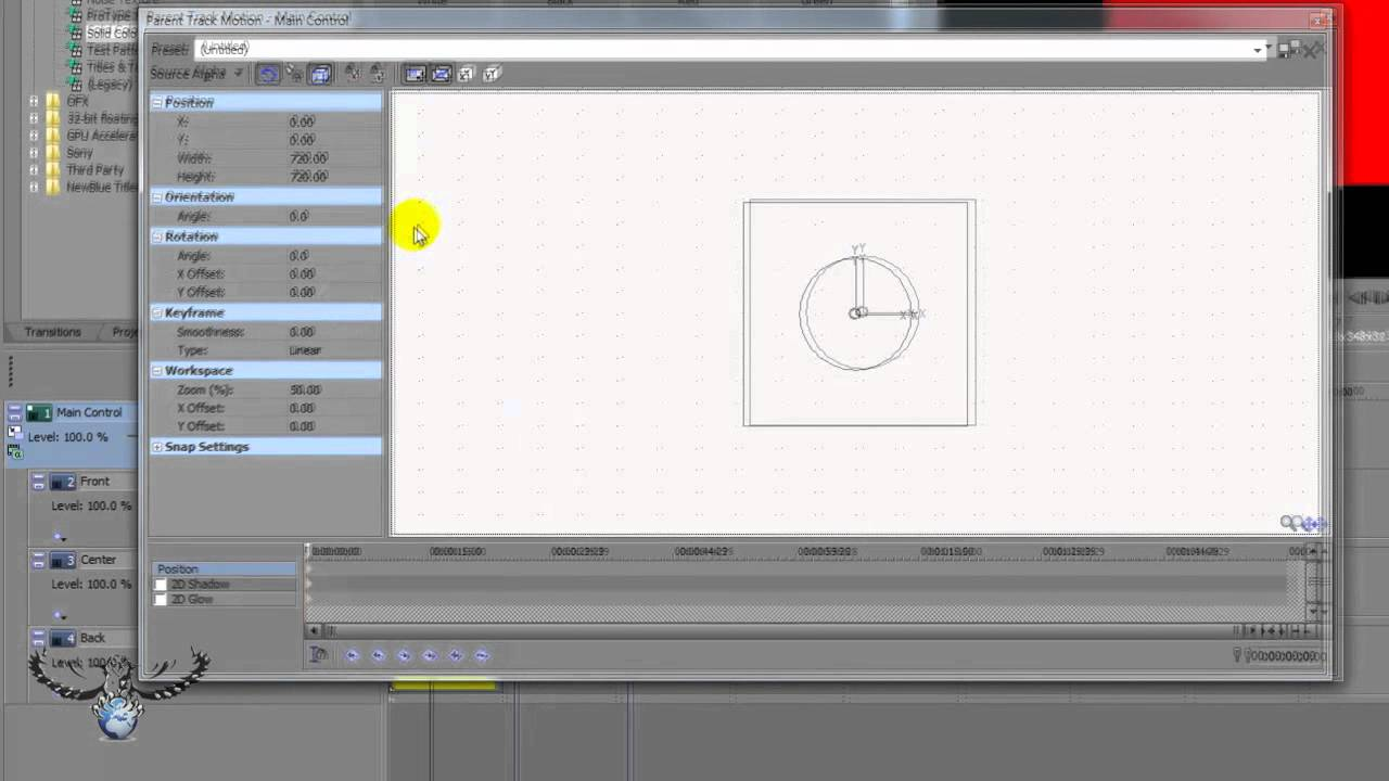 Sony vegas pro 11 tutorial – how to use track motion