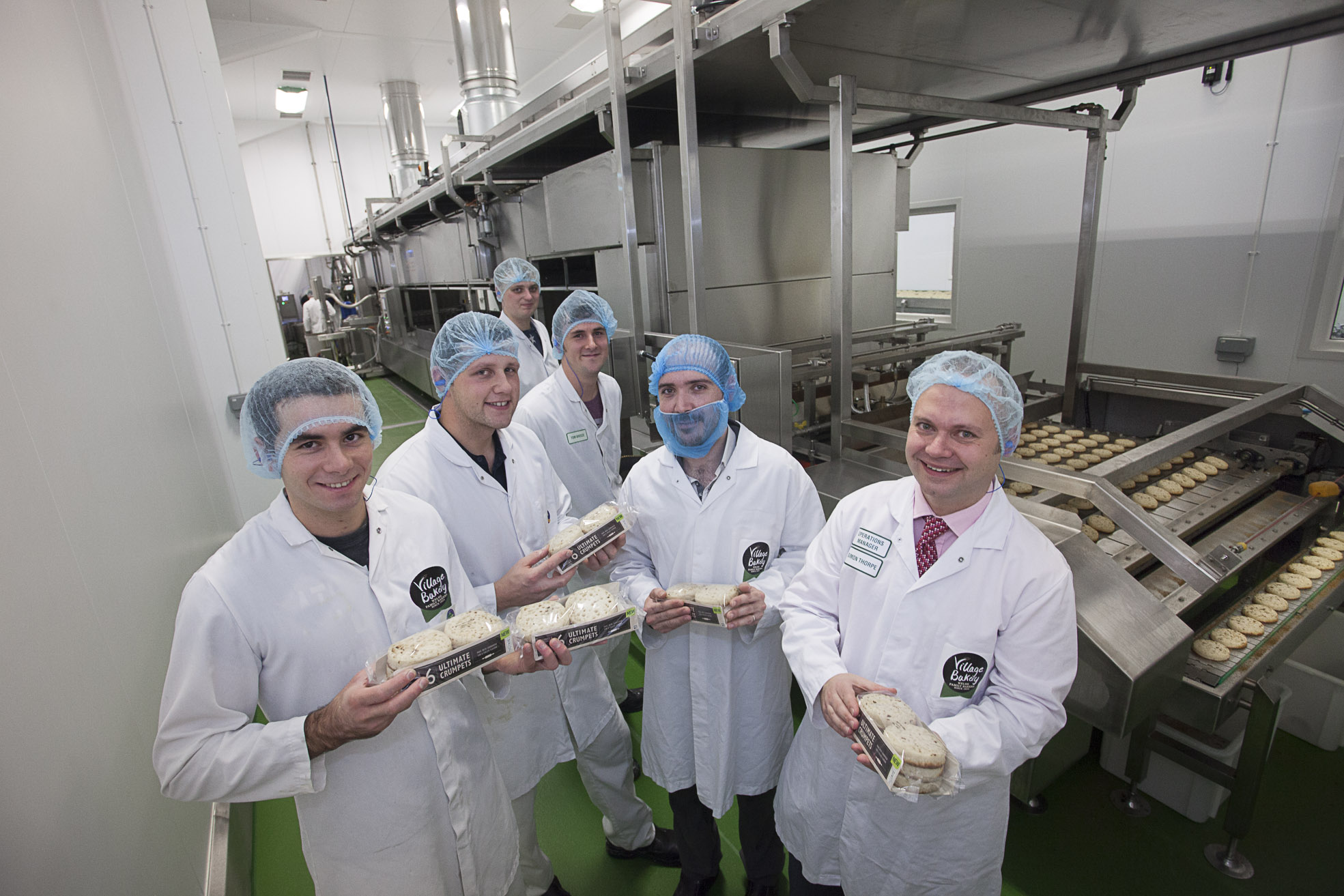 new 2m crumpet line creates 36 new jobs at bakery wales news by wales express