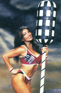 Diane Youdale, best known for her role as Jet in the hit TV series Gladiators