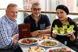 From the Lebanon with love as Sally spices up Swansea