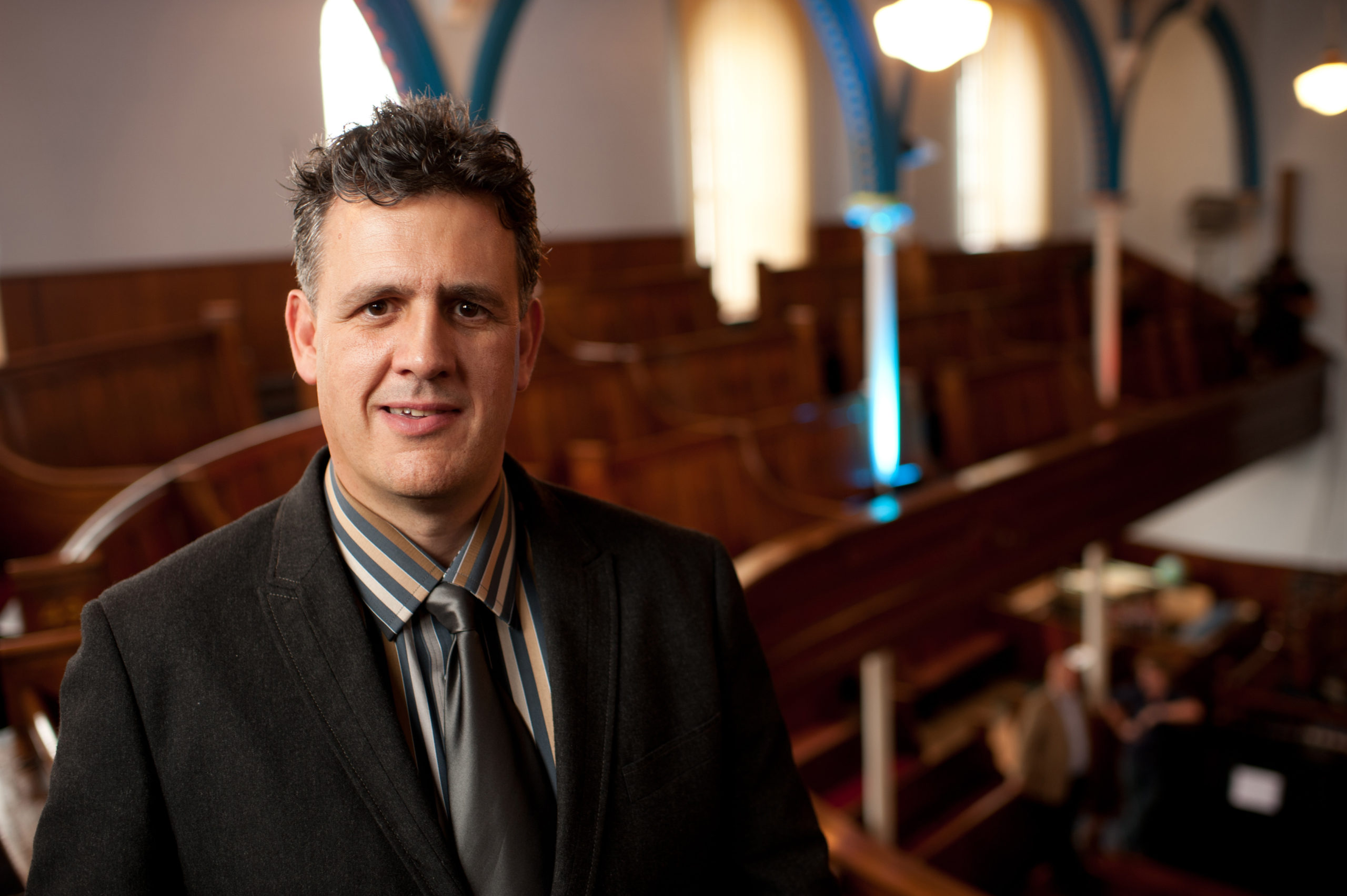 St Dwynwen's Day special on S4C - The programme's presenter, Rhys Meirion