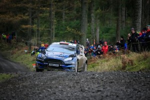 Elfyn Evans will be driven around the Monaco Grand Prix Formula 1 circuit by Elfyn Evans in the M-Sport Ford Fiesta.