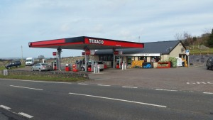 TEXACO Beran petrol station currently run by Manny Shoker.
