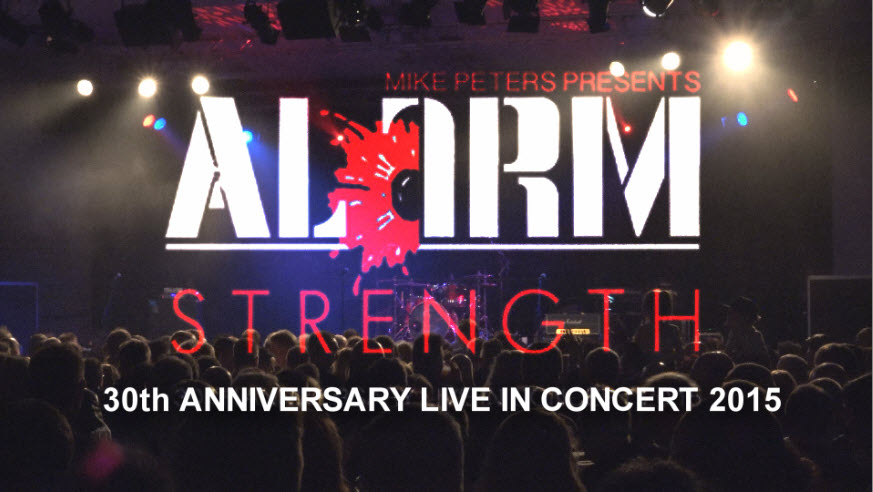Mike Peters Presents The alarm live in concert 2015