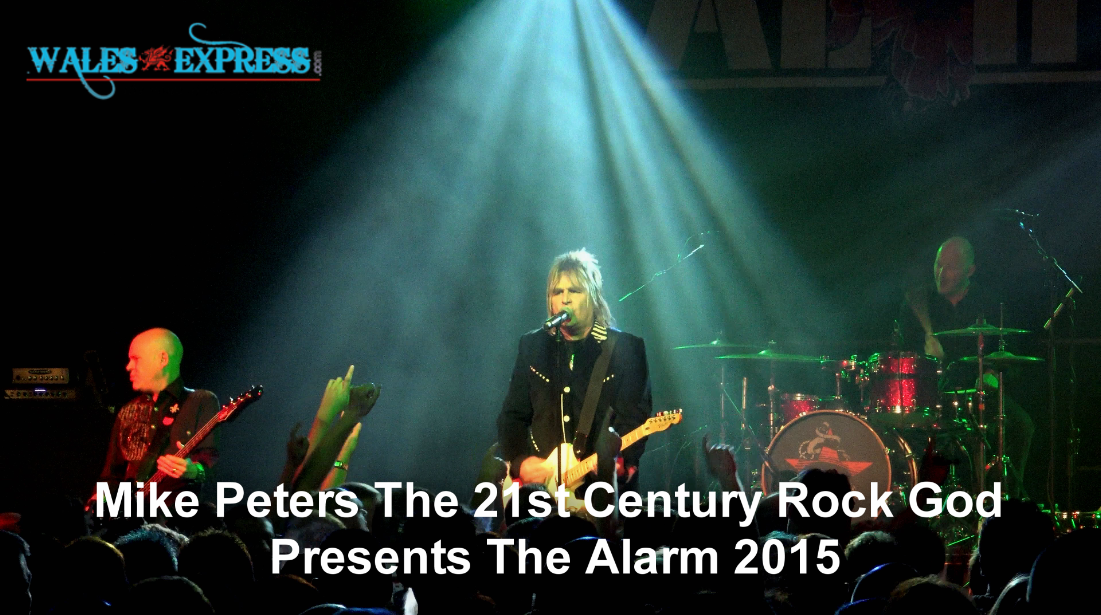 Mike Peters The 21st Century Rock God Presents The Alarm 2015