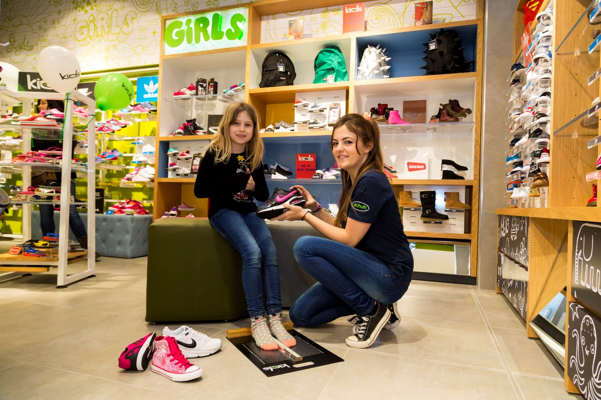 best website a29c6 f5670 Swansea kids are the heart and sole of new Schuh KIDS 'shop ...