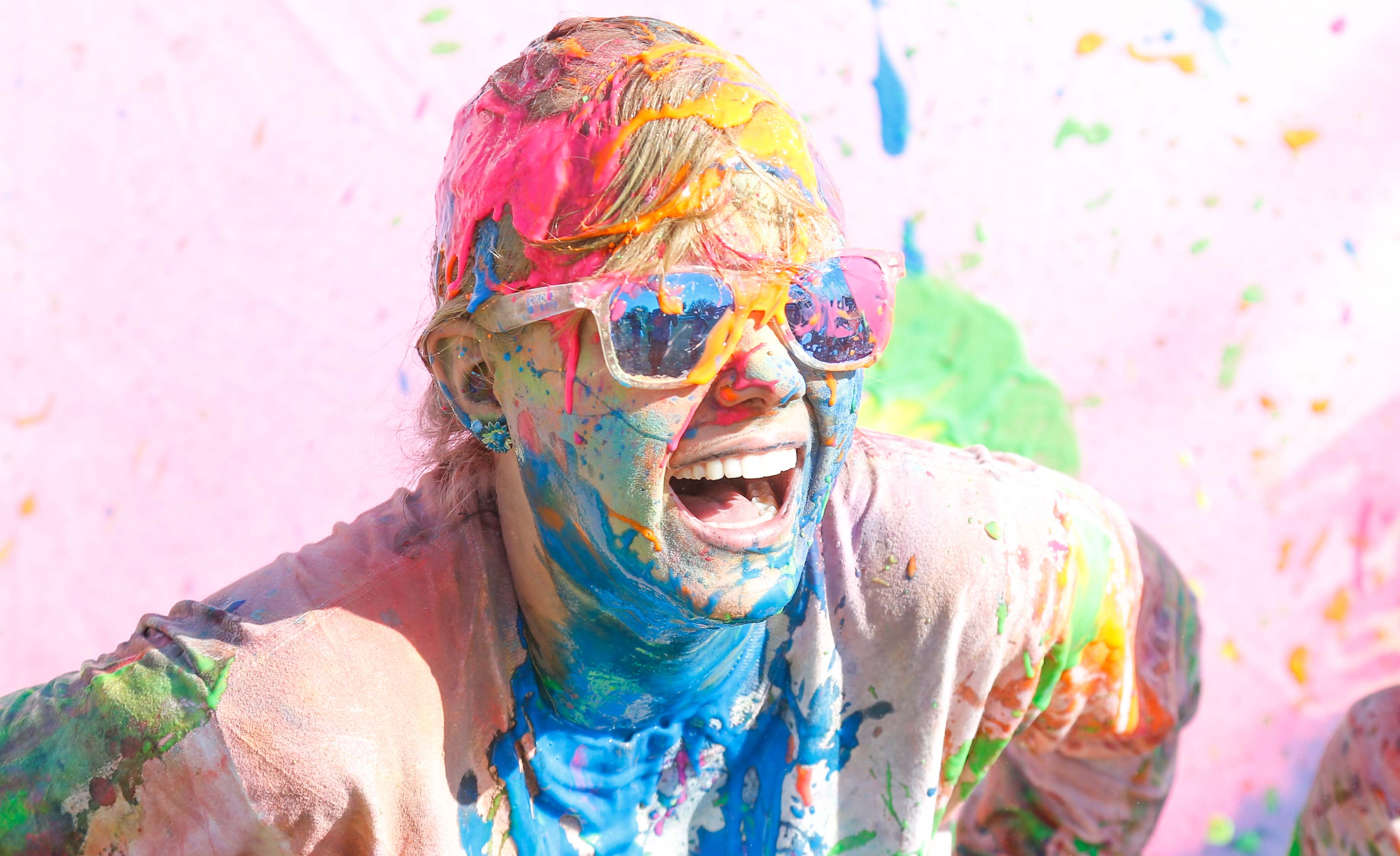 Raise money for St John's at Colour Me Rad event at Margam Park