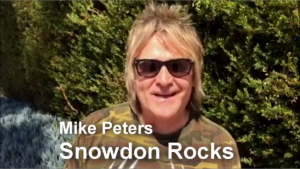 Mike Peters Snowdon Rocks -2015