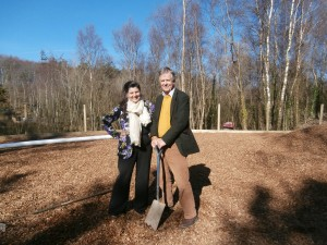 Andrea and Stephen Bristow, managing directors of the GreenWood Forest Park,