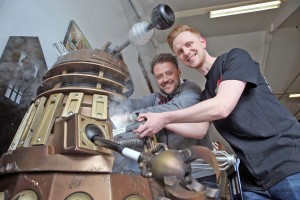 Owain Wyn Evans meets a Dalek with Real SFX managing director Danny Hargreaves.