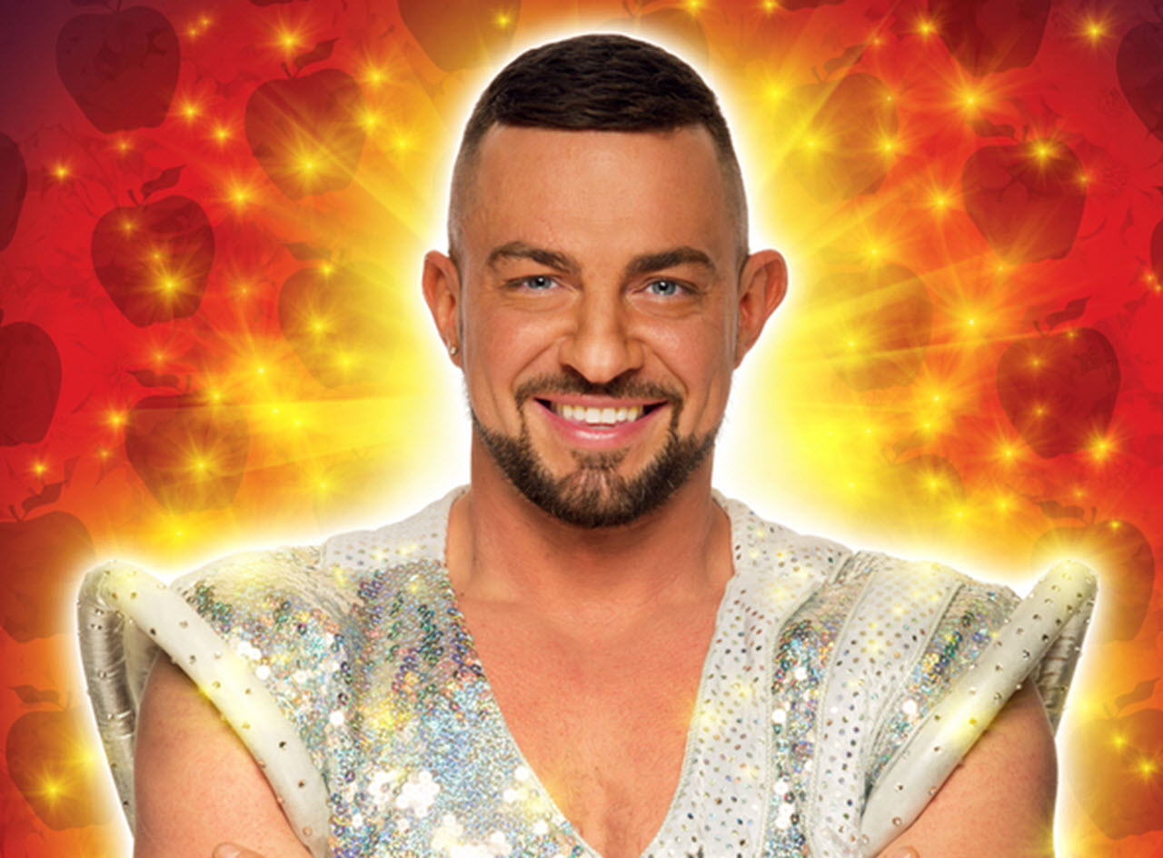 Strictly star Robin Windsor confirmed to appear in panto at Venue Cymru in December.