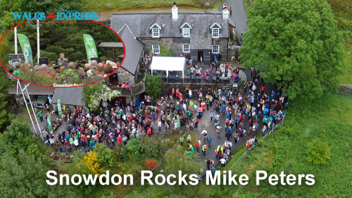 Sonowdon Rocks with Mike Peters - The arlarm