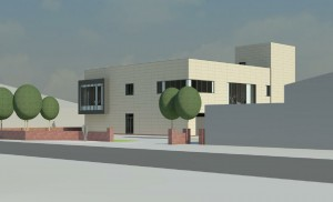 This is what the new police station in Llandudno will look like.