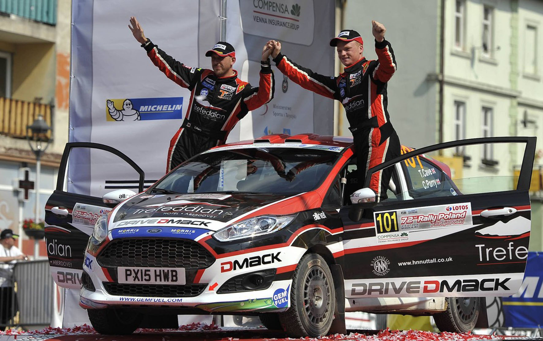 Super second for Cave and Parry after battle in Poland