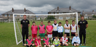 Caernarfon Town Football in the Community Group 3