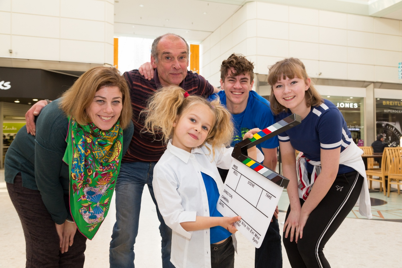 Shopping centre drama as young actors stage Quadrant show