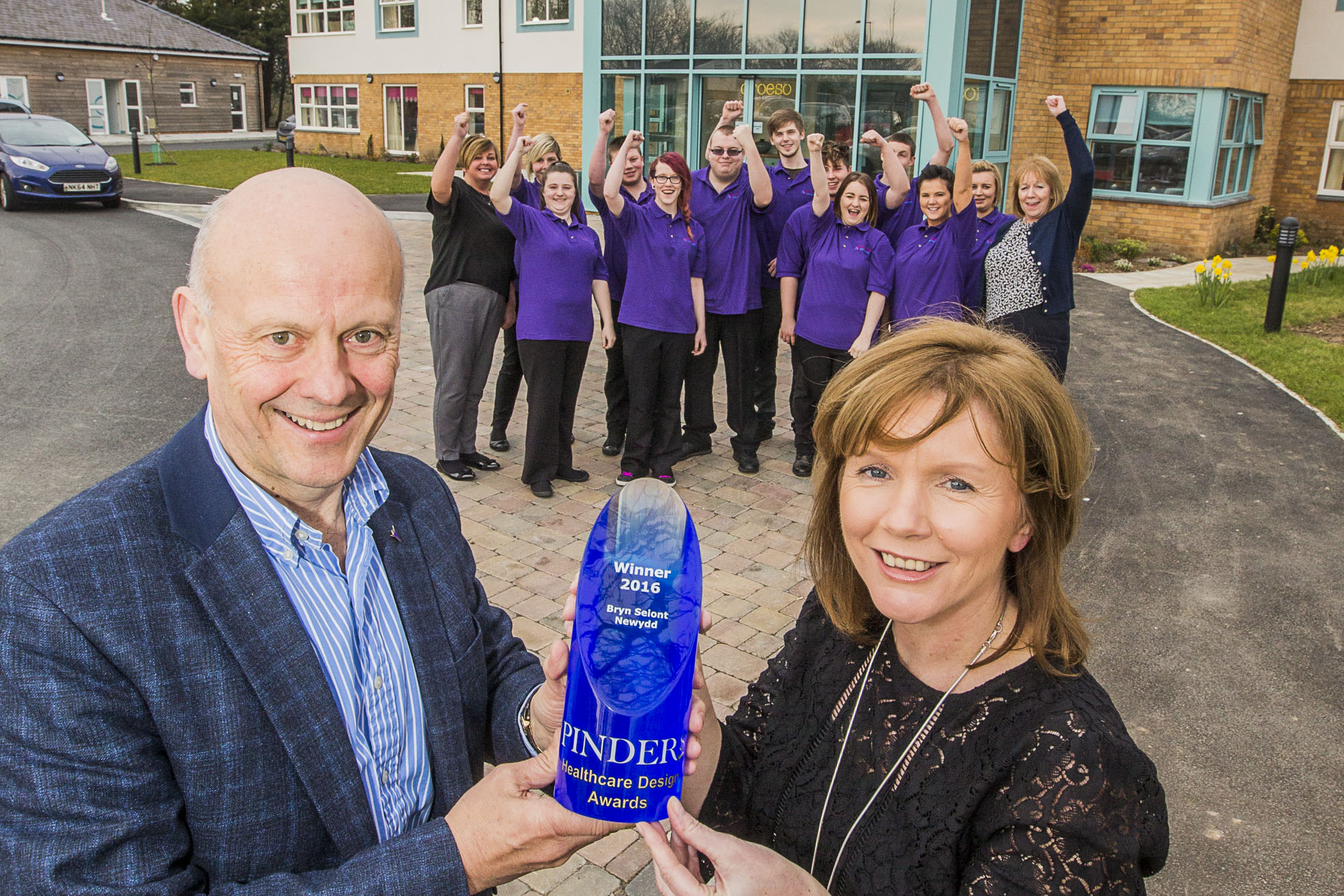 Bryn Seiont Newydd crowned as best new care home in UK