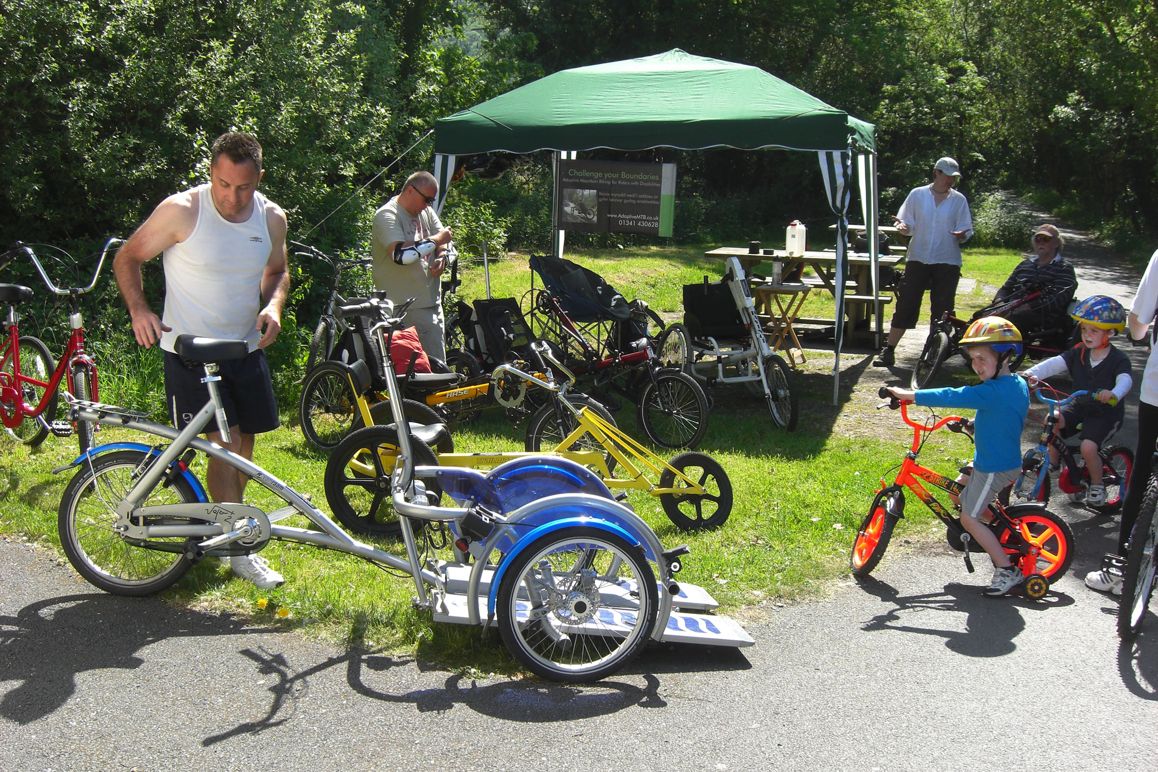 Multitude of adaptive cycles set to hit the Mawddach Trail