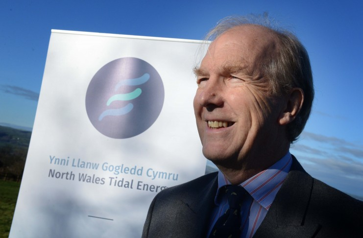 Henry Dixon, chairman, North Wales Tidal Energy and Coast Protection Company. Picture by Richard Williams.