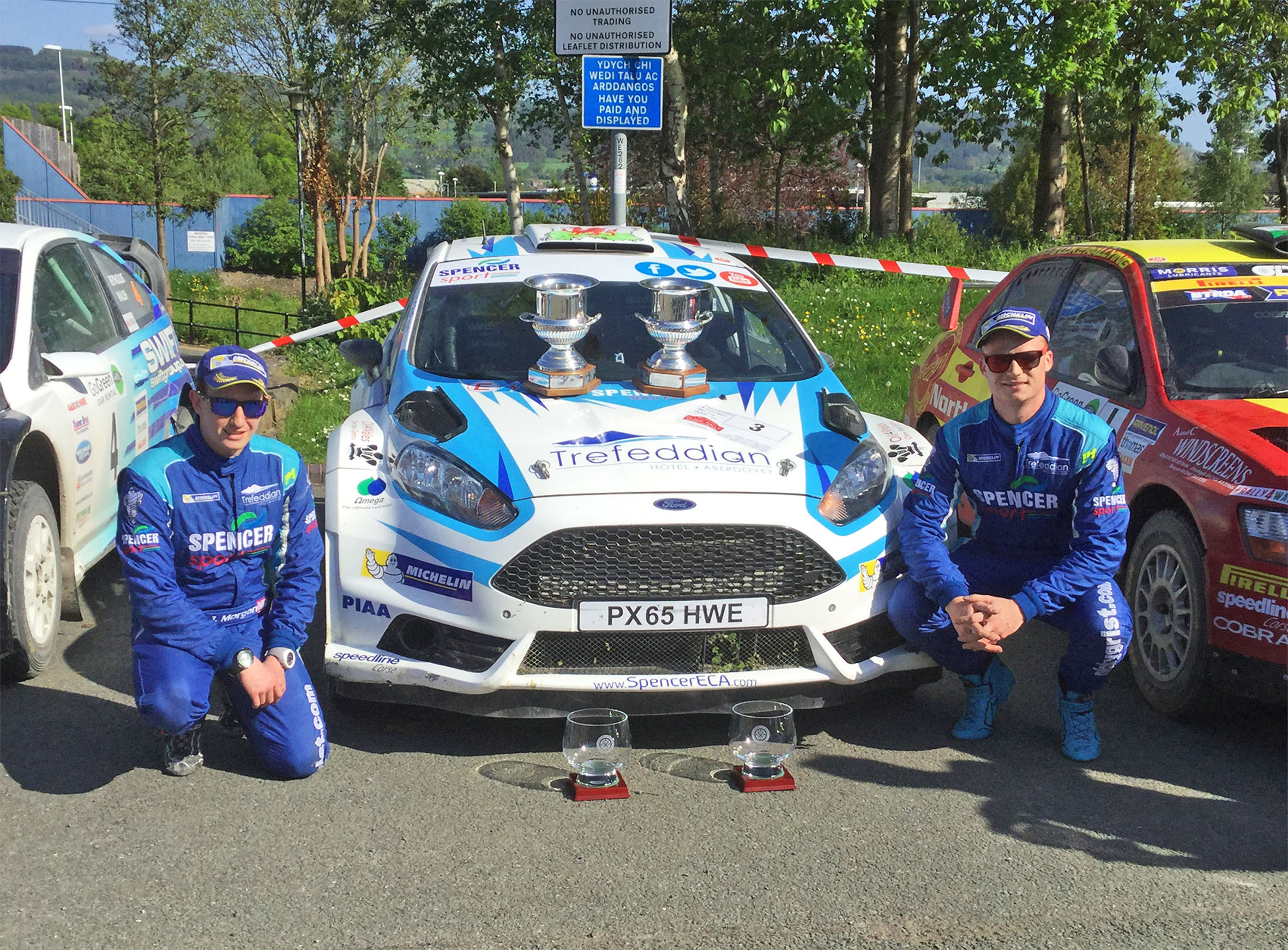 Tom Cave records Plains Rally victory
