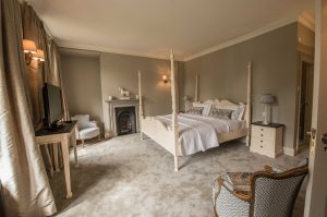 The bridal suite has been transformed at Soughton Hall.