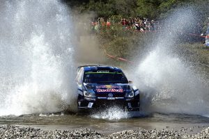 The type of action drivers in the Dayinsure Wales Rally GB can expect in October.