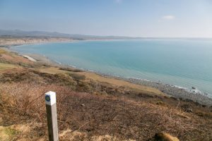 There are stunning views to be enjoyed from the path at Rhiw in Pen Llŷn