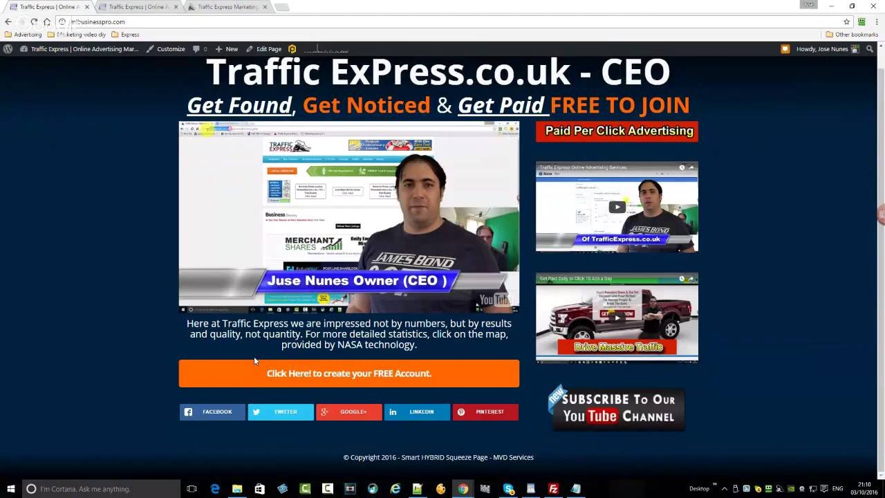 how to get more traffic to new website