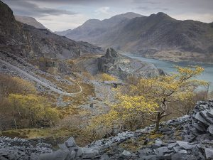Dinorwig in Snowdonia, North Wales, by landscape photographer Joe Cornish who will be speaking at Cambrian Photography's photo show in Colwyn Bay in May CREDIT: Joe Cornish