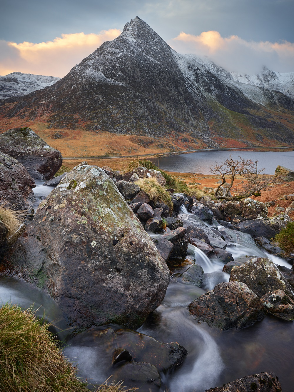 Tryfan in Snowdonia by landscape photographer Joe Cornish who will be speaking at Cambrian Photography's photo show in Colwyn Bay in May CREDIT: Joe Cornish