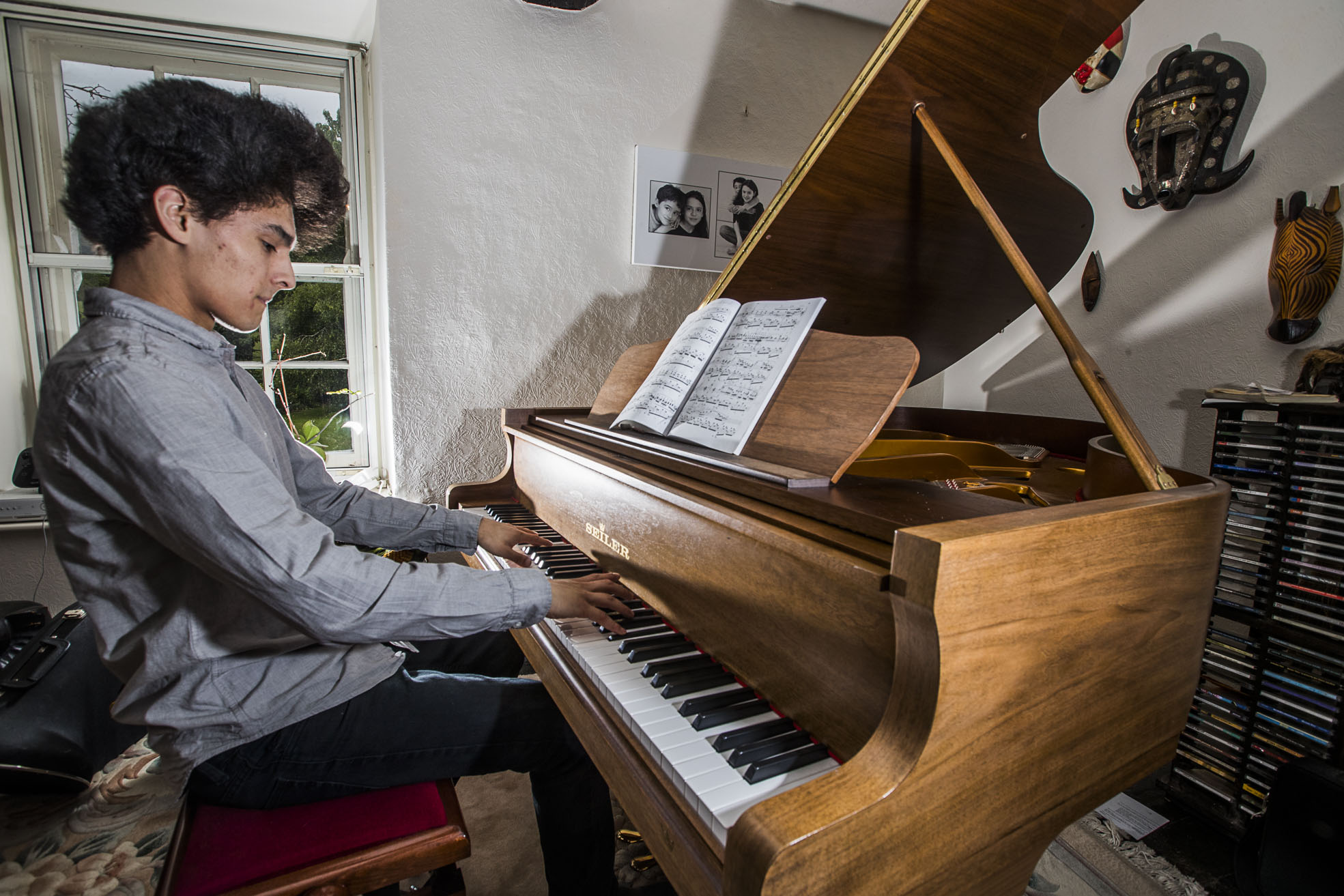 Piano prodigy to perform just hours after his A-level maths exam