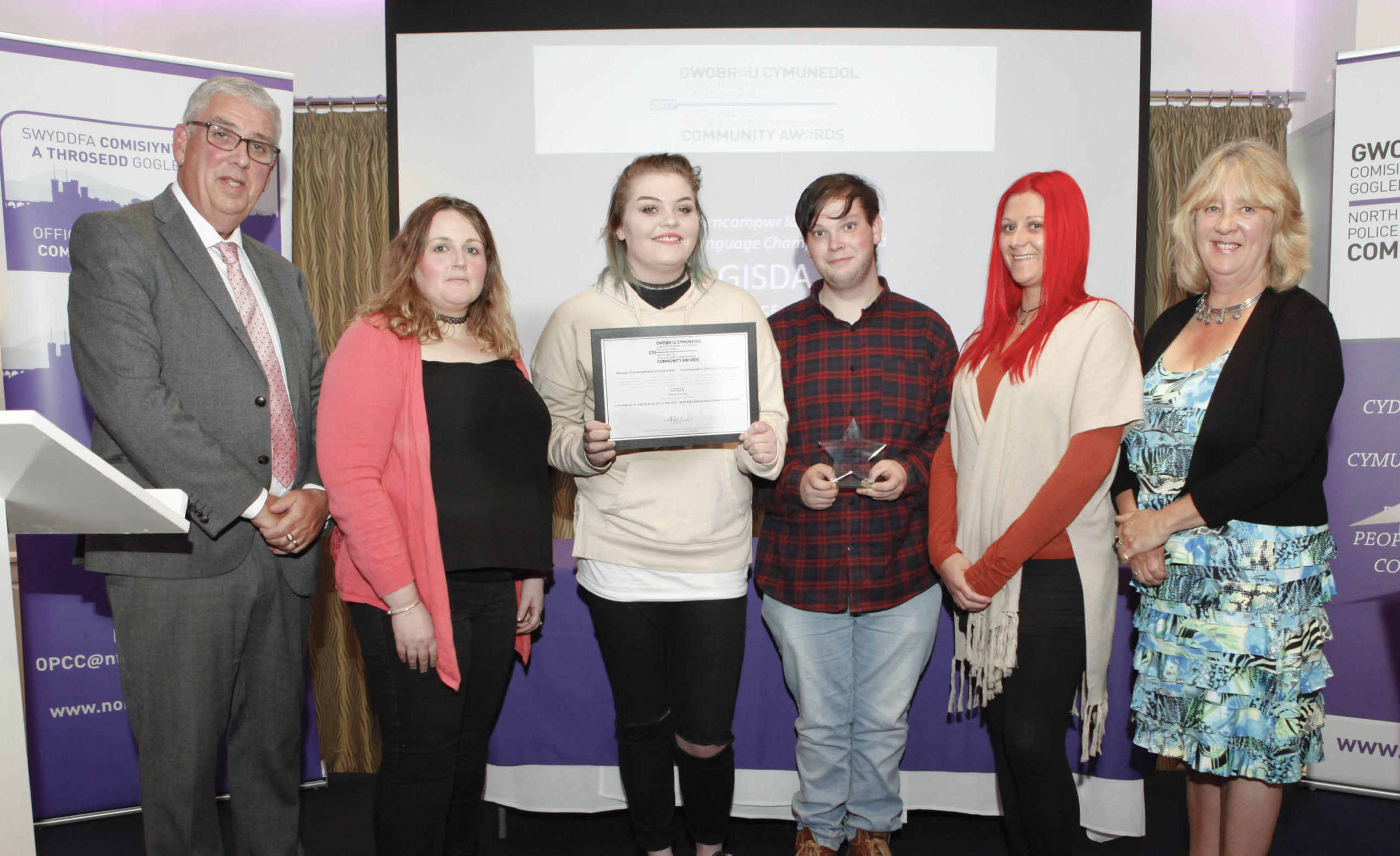 Gwynedd charity GISDA honoured for work with homeless young people