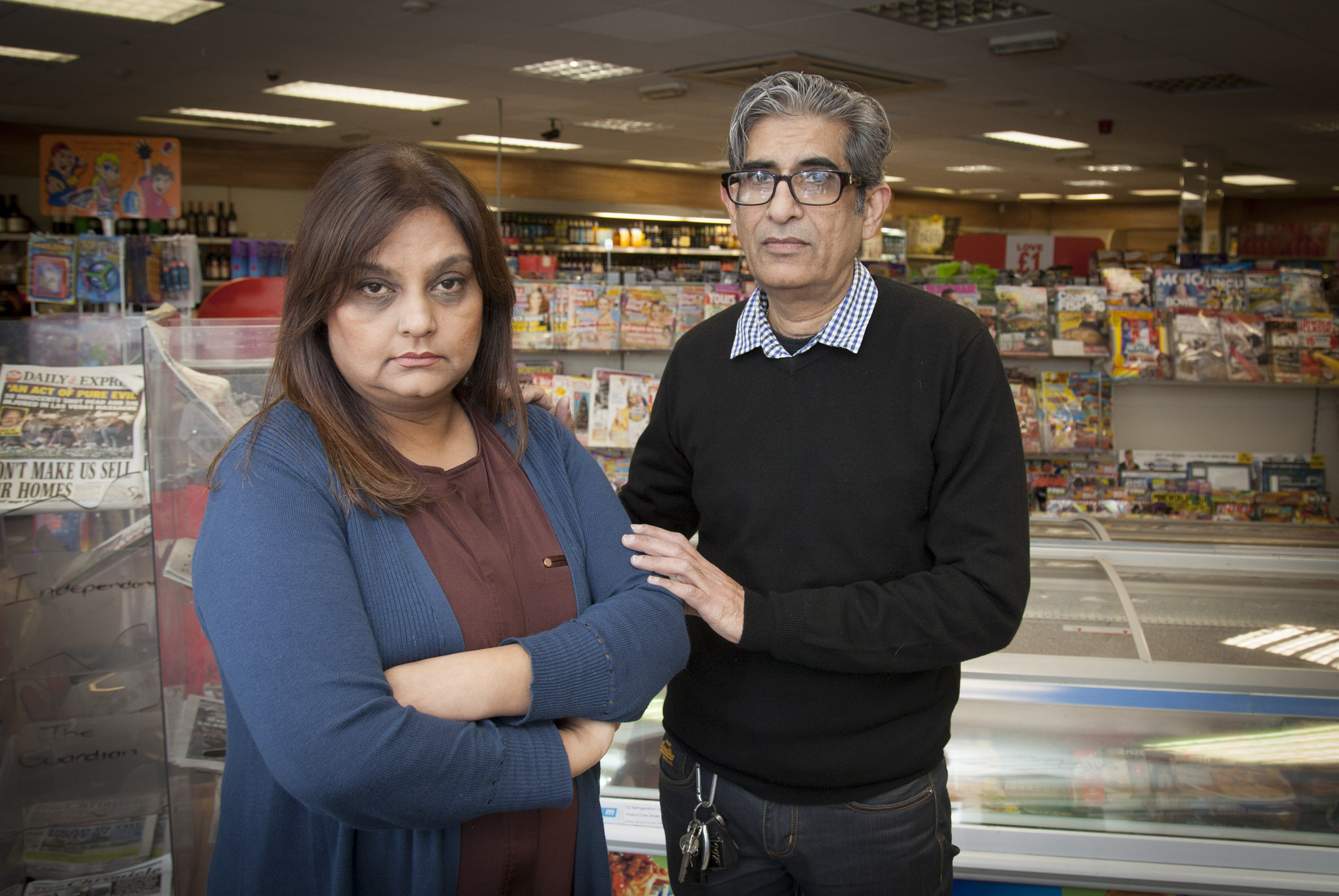 Racially abused store boss speaks out to combat hate crime in North Wales