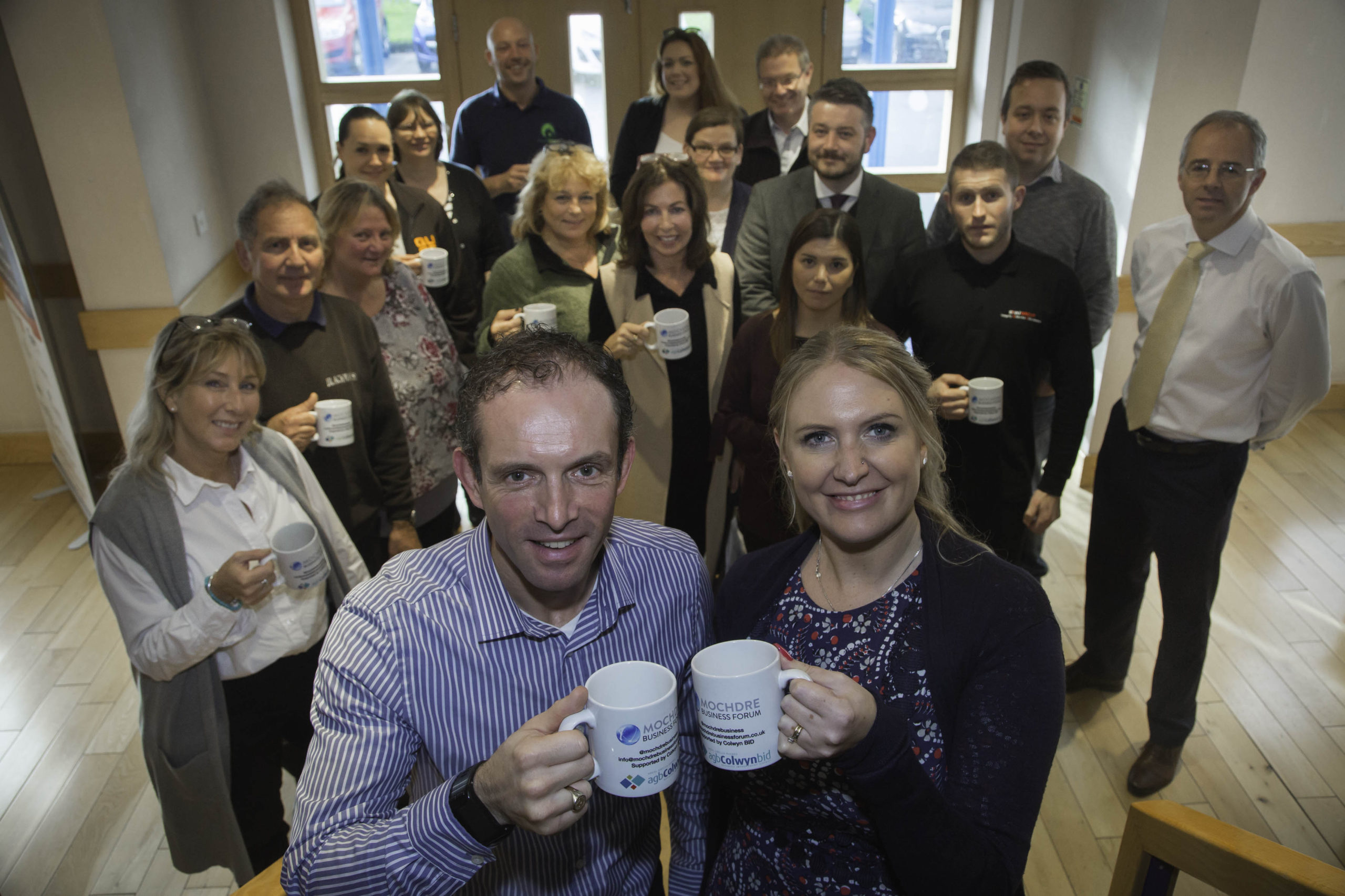 Mochdre Business Forum re-launched with support from Colwyn BID