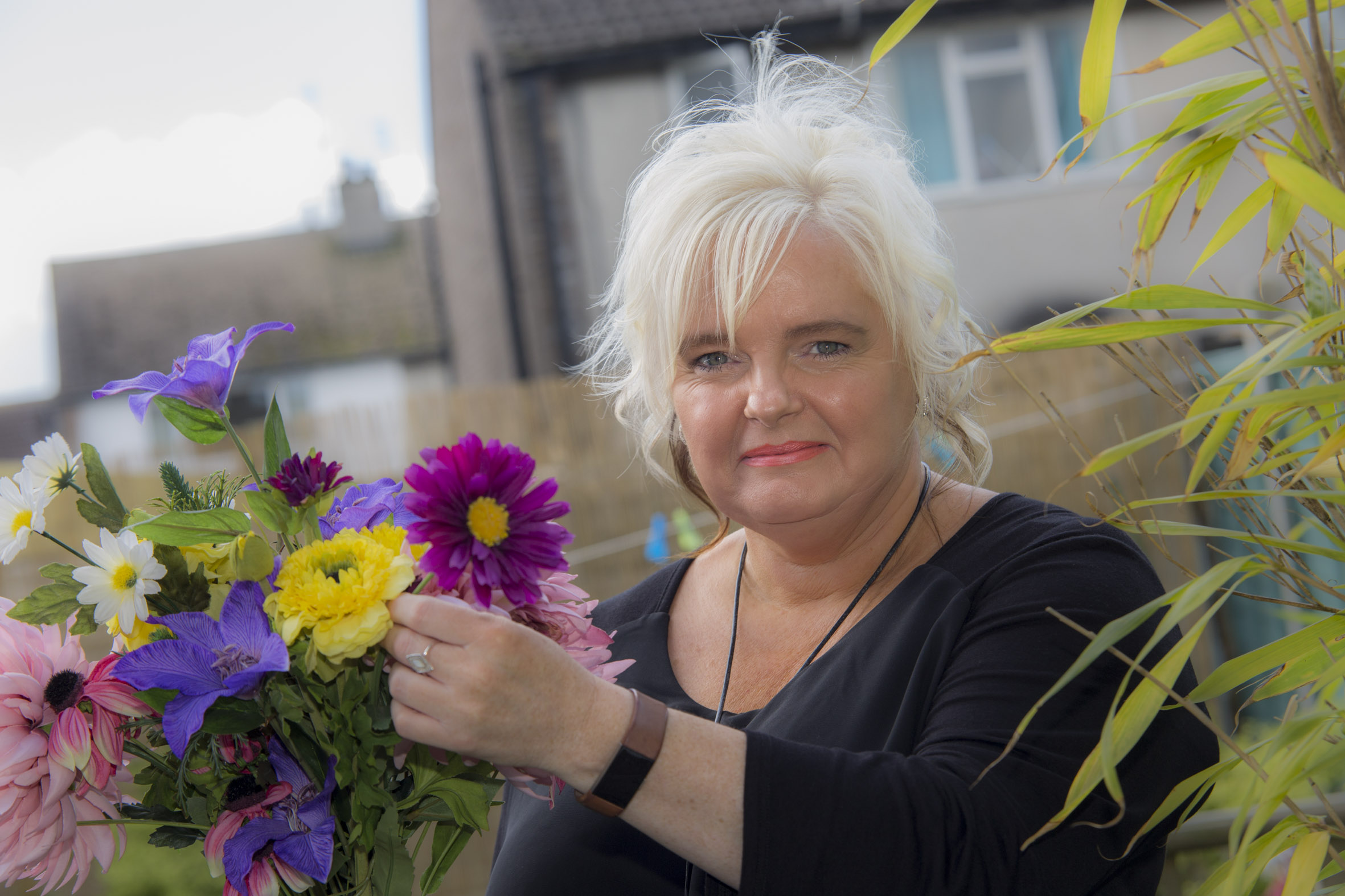 Dedicated Liz  from Anglesey is up for major award after decades as a carer
