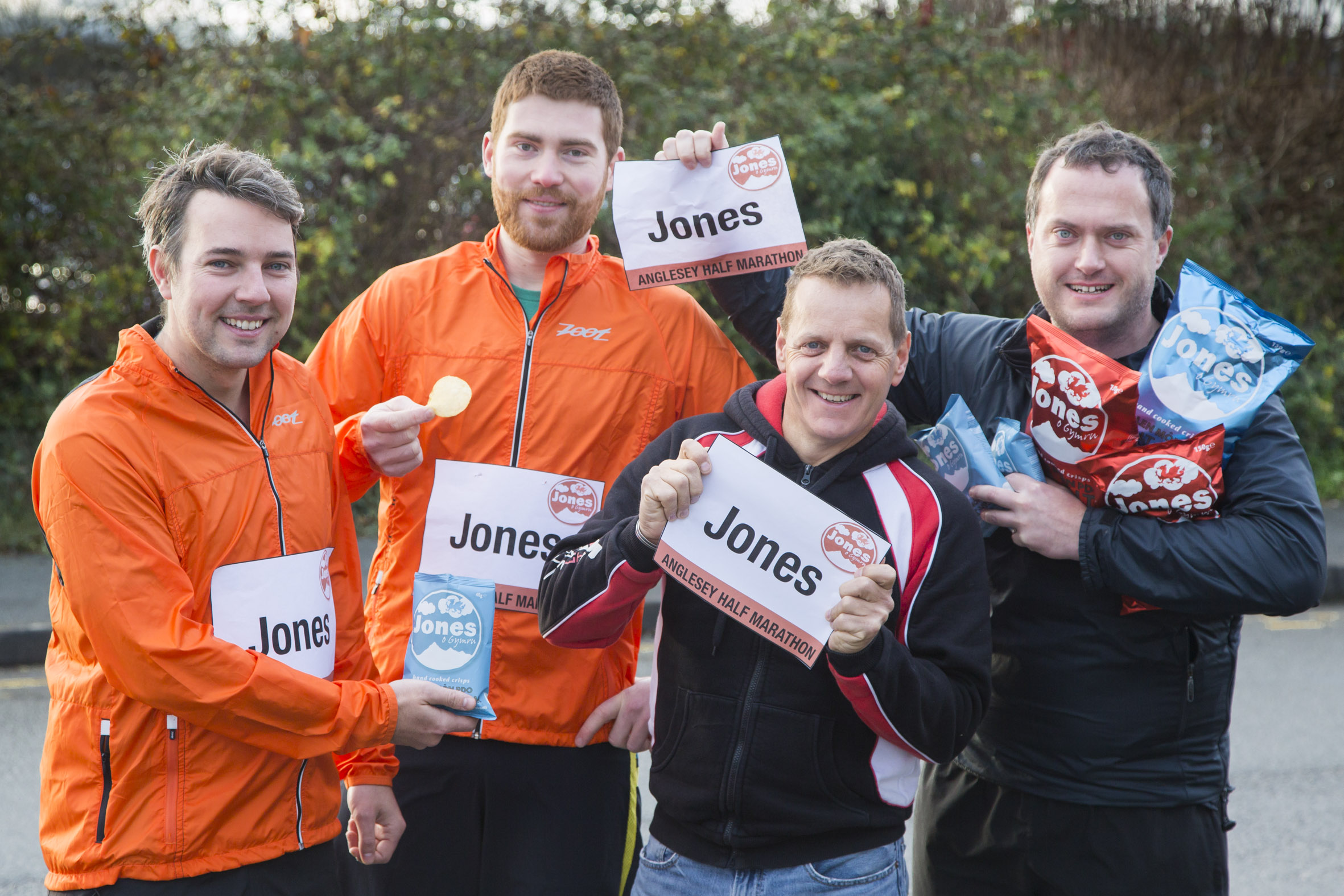 On your marks! Joneses are onthe run to set new world record