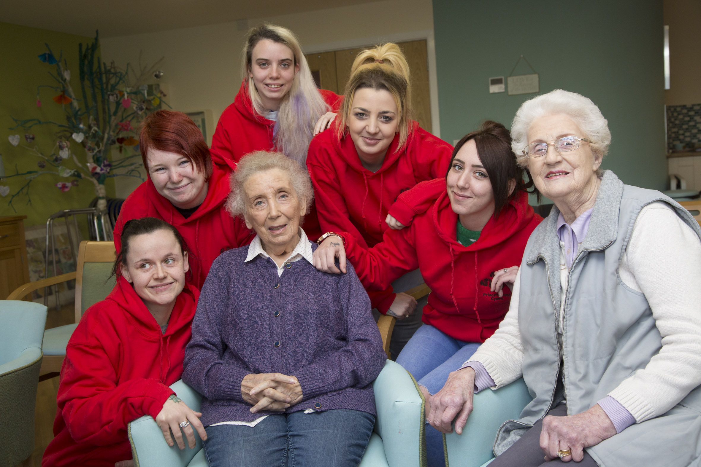 Fantastic five land jobs at flagship dementia centre thanks to life-changing training course