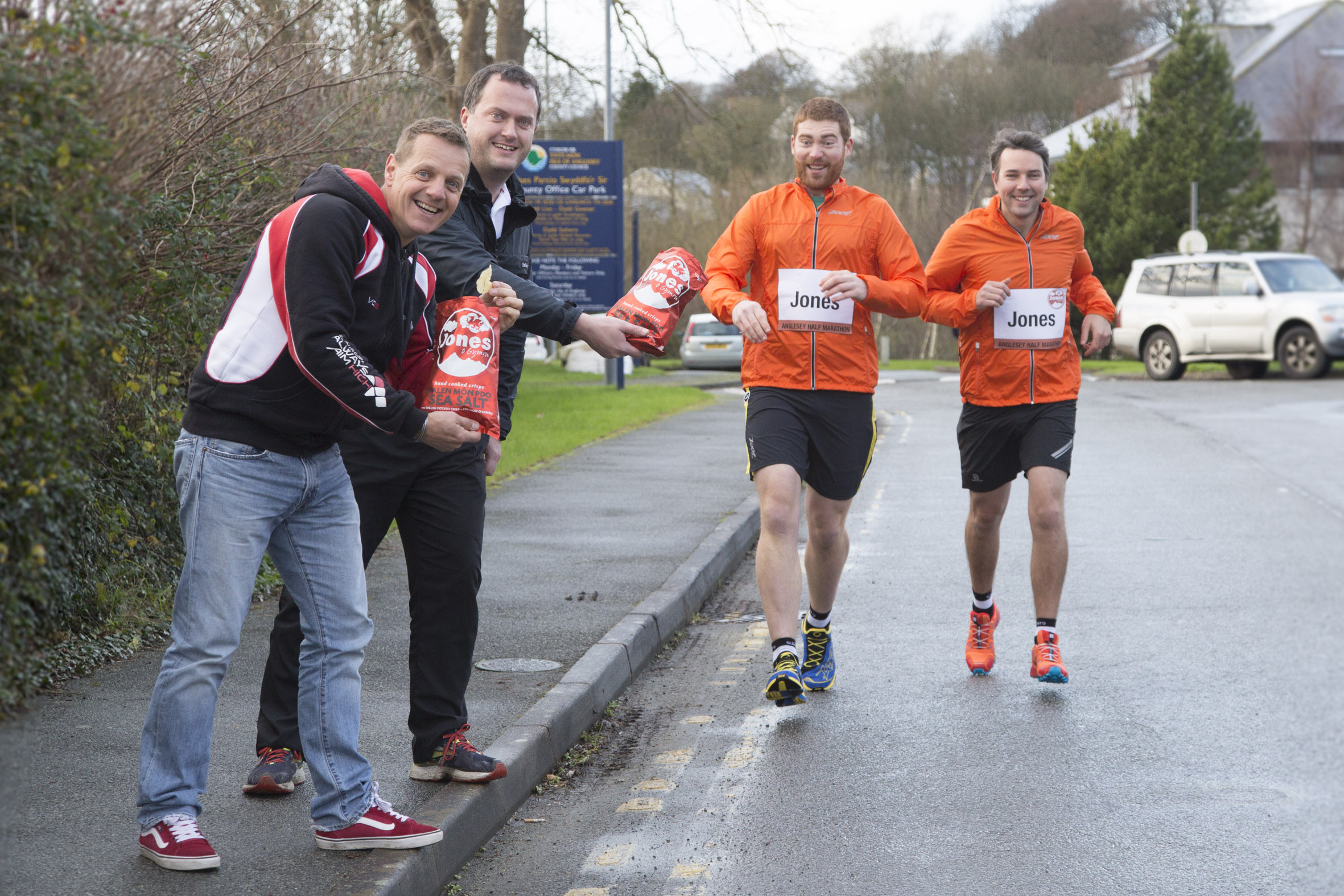 On your marks! Joneses are on the run to set new world record