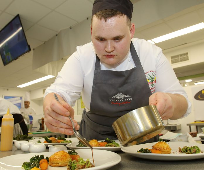 Chef Tom Westerland - Welsh Culinary Association Welsh Chef of the Year 2017 and Battle for the Dragon Competition