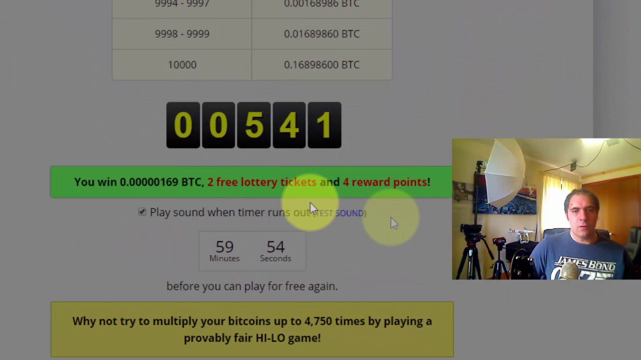 Win upto $200 in Bitcoins every hour