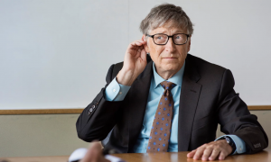 Bill Gates cautions over cryptocurrencies and Elon Musk's Hyperloop, but backs natural language understanding as the best thing in technology right now. Photograph: Linda Nylind for the Guardian