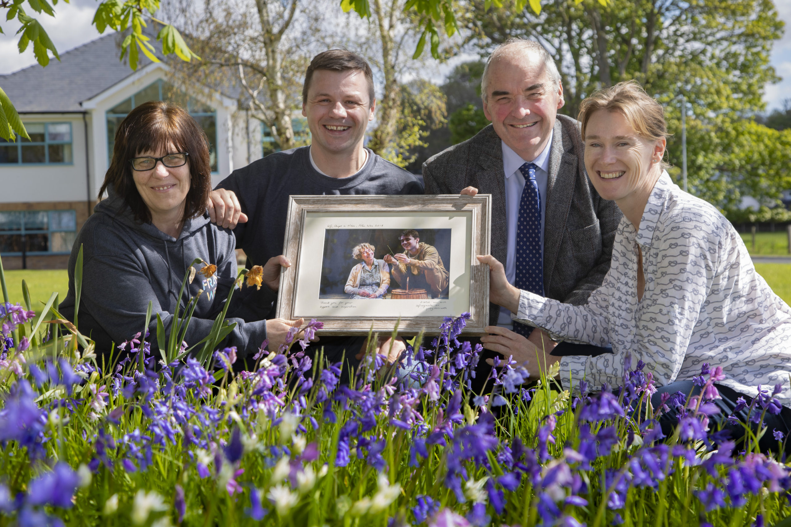 Theatre company thank care home residents for inspiring record-breaking success of moving play about dementia