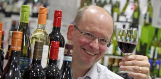 Gary Carter from Shropshire Wine School.