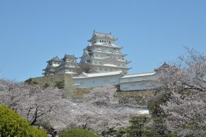 Himeji Castle is a stunning five-storey wooden building that provided the backdrop for scenes from the 1967 James Bond movie, You Only Live Twice, in Sean Connery's fifth outing as 007