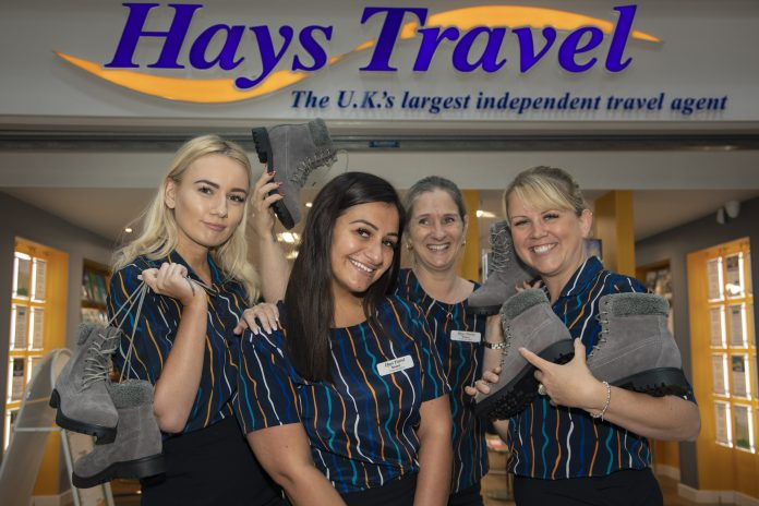 Photographed are those who are doing a sponsored walk from Rhyl to Llandudno, at the end of July in aid of the Cuddle Charity which is the special care baby unit charity at Ysbyty Glan Clwyd. Pictured are Sinead Lloyd (front centre) with Amy Harley, Michelle Jones and Sharon Jones