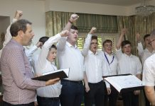 Only Boys Aloud perform at Gwern Alyn, Pandine Park Wrexham'