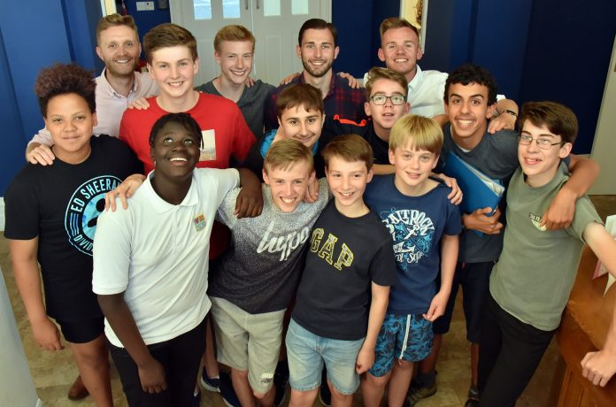 The Boys Aloud members who stole the show.