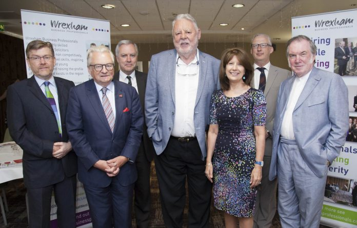 Wrexham Business Proffessionals meet at Ramada Hotel in Wrexham with special guests