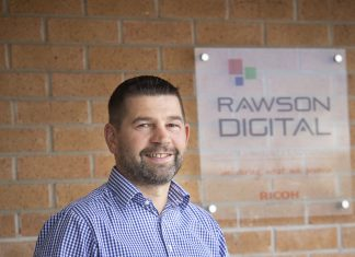 Pictured is Arwel Griffiths, regional sales director.