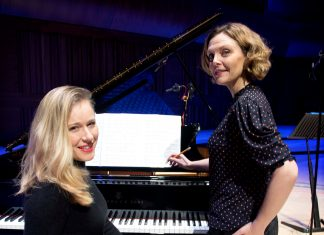 Soprano Elin Manahan Thomas and pianist Jocelyn Freeman. Picture by Matthew Thistlewood.